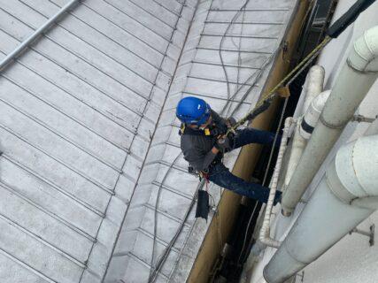 無足場工法 ロープアクセス漏水点検